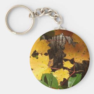 Autumn Leaves Key Chain