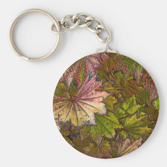 Autumn Leaves - Keychain