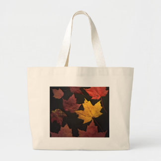 Autumn Leaves Large Tote Bag