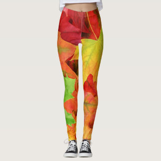 Autumn Leaves Leggings