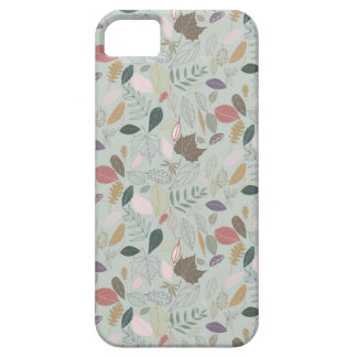 Autumn leaves morning mist iPhone 5 cover