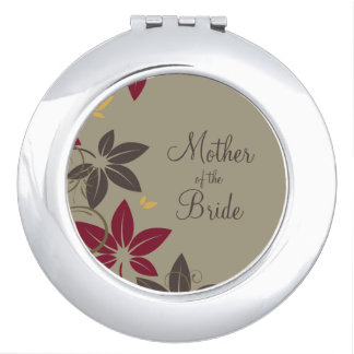 Autumn Leaves Mother of the Bride Makeup Mirrors