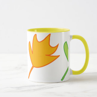 Autumn leaves mug