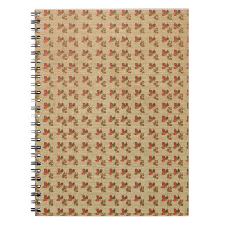 Autumn Leaves Notebook