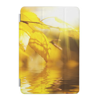 Autumn leaves on a sunny day iPad mini cover