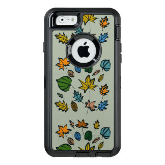 Autumn Leaves on Otterbox Case for the iPhone 6