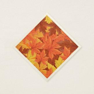 Autumn Leaves Paper Napkins