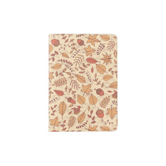 Autumn Leaves Passport Holder