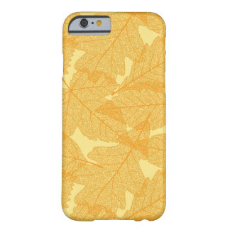 Autumn leaves pattern barely there iPhone 6 case