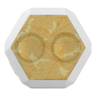 Autumn leaves pattern white boombot rex bluetooth speaker