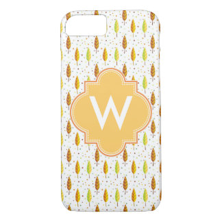 Autumn leaves Pattern iPhone 7 Case