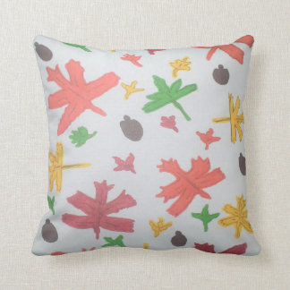 Autumn Leaves Pattern Pillow