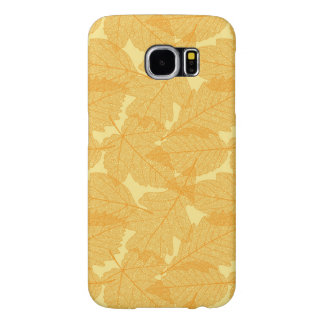 Autumn leaves pattern samsung galaxy s6 cases