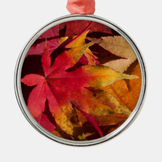 Autumn Leaves Phone Cover Christmas Ornament