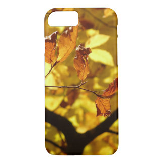 Autumn leaves photo print iPhone 7 case