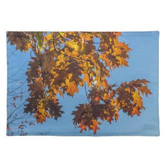 Autumn leaves placemat