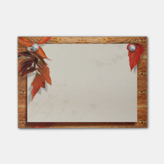 Autumn Leaves Post-it® Notes 4 x 3
