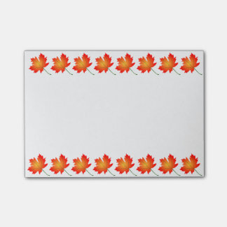 Autumn Leaves Post-it-Notes Post-it Notes