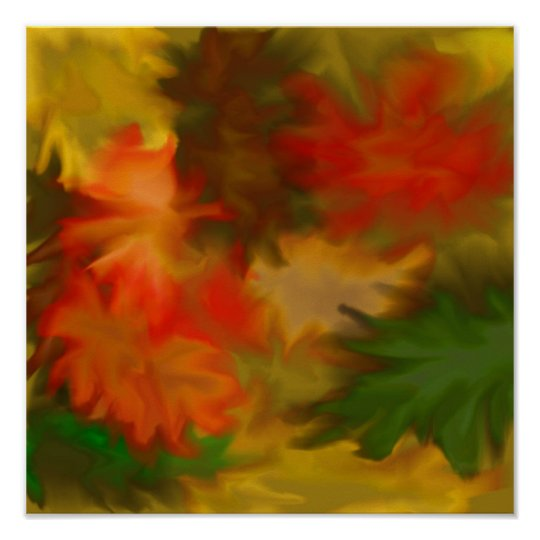 """""""Autumn Leaves"""" Poster"""