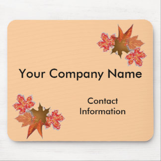 Autumn Leaves Promotional Mouse Pad