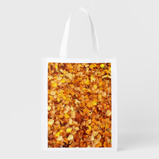 Autumn Leaves Reusable Bag