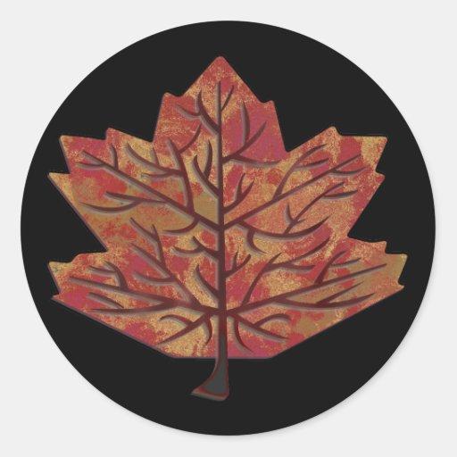 Autumn Leaves Sticker