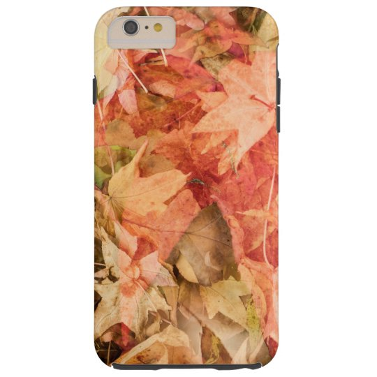 Autumn leaves tough iPhone 6 plus case