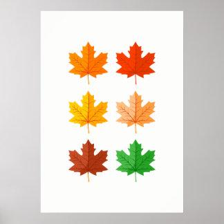 Autumn leaves Wall Art
