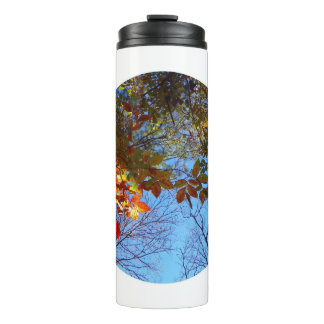 Autumn Leaves Water Bottle Thermal Tumbler