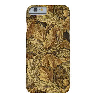 Autumn leaves William Morris pattern Barely There iPhone 6 Case