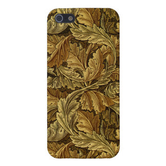 Autumn leaves William Morris pattern iPhone 5/5S Cover