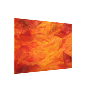 """""""Autumn Leaves"""" Wrapped Canvas Gallery Wrap Canvas"""