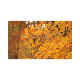Autumn Leaves Wrapped Canvas Gallery Wrap Canvas