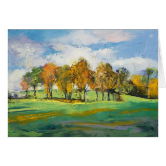 Autumn Light Card