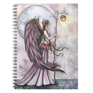 Autumn Light Fairy Notebook