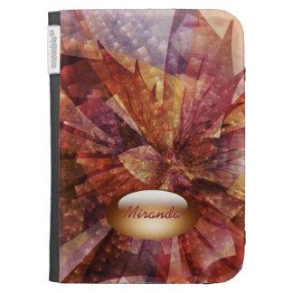 Autumn lights personalized option  Caseable Case Kindle Folio Cases
