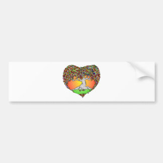 Autumn Love Bumper Sticker