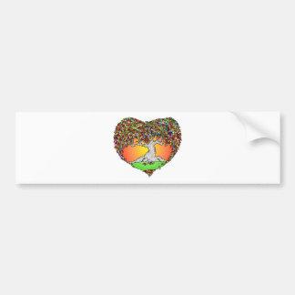 Autumn Love Car Bumper Sticker