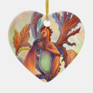 Autumn Love Christmas Ornament