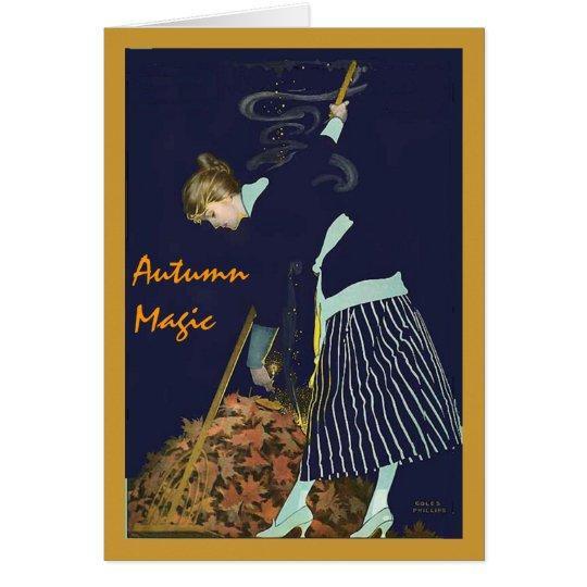 Autumn Magic Card