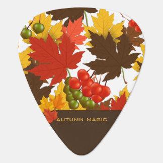 Autumn Magic Guitar Pick