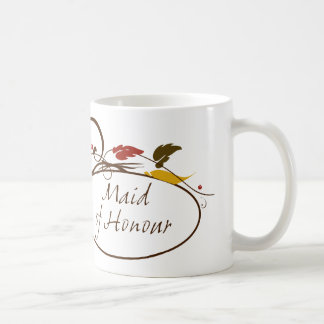 Autumn Maid of Honour Basic White Mug