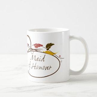 Autumn Maid of Honour Basic White Mug