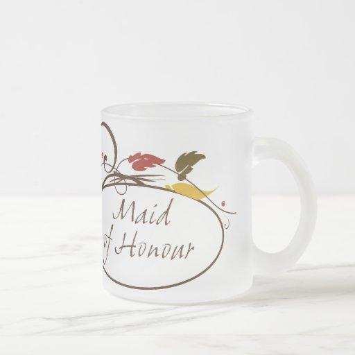 Autumn Maid of Honour Mugs
