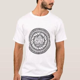 Autumn Maple Leaf Doodle T-Shirt