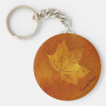 Autumn Maple Leaf in Gold