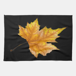 Autumn Maple Leaf Tea Towel