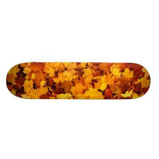 Autumn Maple Leafs Skate Boards