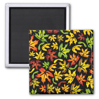 autumn maple leaves magnet