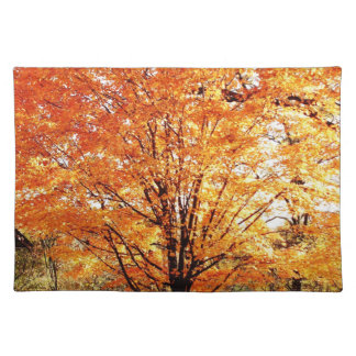 Autumn Maple Tree Placemats